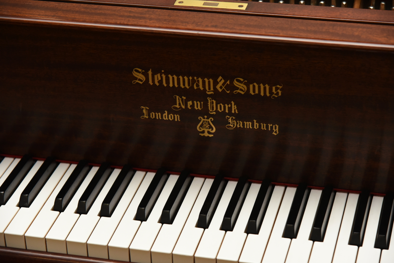 Steinway pianos for sale.